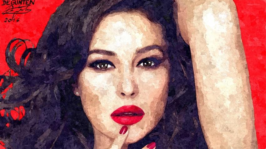Monica Bellucci by JIM